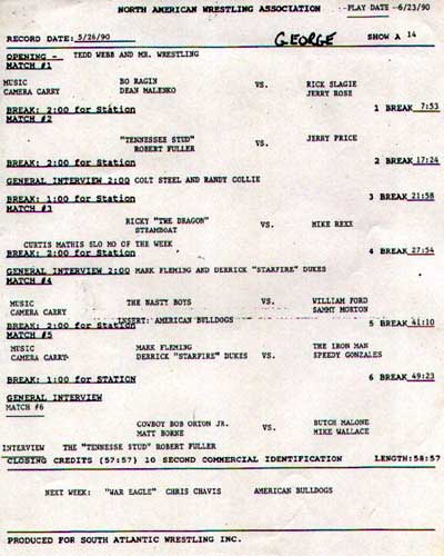 NAWA TVTaping Program 15